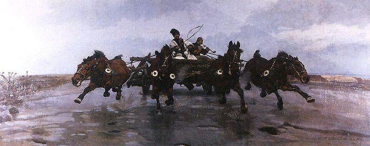 Józef Chełmoński -Czwórka