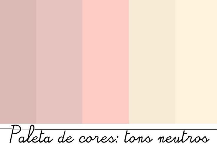 paleta de cores tons de rosa - Pesquisa Google