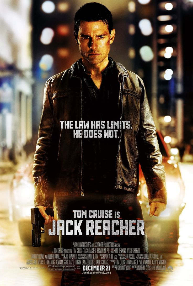 "Of Cruise's relatively small stature, Lee Child said, ""With another actor you might get 100% of the height but only 90% of Reacher. With Tom, you'll get 100% of Reacher with 90% of the height.""  ~ ~ ~ SO the Movie blurb sez....... ""Tom Cruise is Jack Reacher!"" - I really don't think so!!!!"