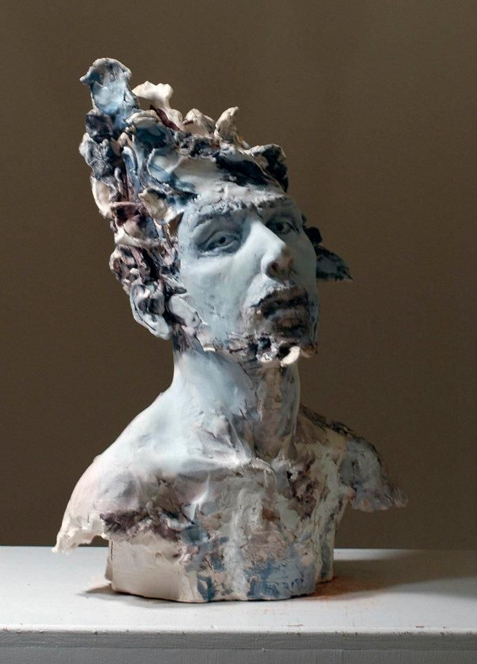 Best clay sculpture images on pinterest ceramic art