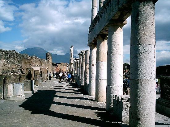 The Forum and Mt. Vesuvius