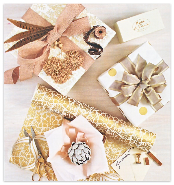 55 best pretty packaging images on pinterest wrapping gifts gold rose gold wrapping inspo solutioingenieria Gallery