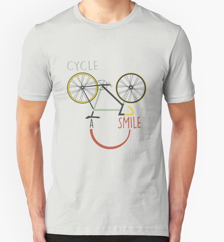 Cycle A Smile (Cycling T-Shirt)
