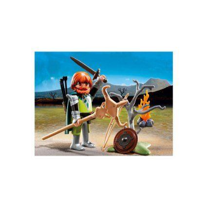 Playmobil 5293 - Guerriero Celta con Spada e Falò: Amazon.it: Giochi e giocattoli