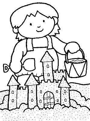 sand coloring pages for kids - photo#17