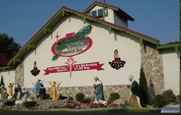 Bronner's Christmas Wonderland | Founded in 1945 by Wally Bronner, Bronner's Christmas Wonderland is the world's largest Christmas store, a year-round commercial attraction for all ages. A huge draw for the town of Frankenmuth, Michigan