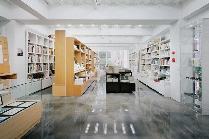 NADiff a/p/a/r/t by Schemata Architects #interior #design #bookshop