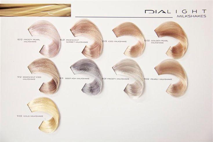 Dialight Milkshake I use 9.01 for a light blonde / silver shade | Hair ...