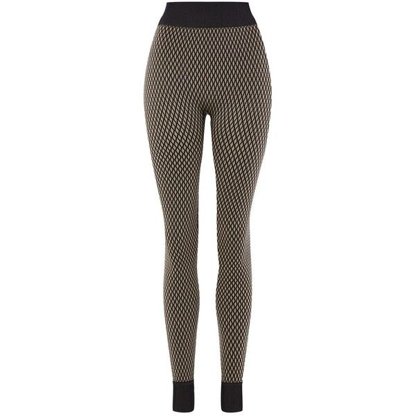 Nude Fishnet Leggings by Ivy Park ($55) ❤ liked on Polyvore featuring pants, leggings, black, nude leggings, topshop leggings, topshop trousers, fishnet leggings and legging pants