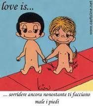 Risultati immagini per vignette l'amore è in italiano