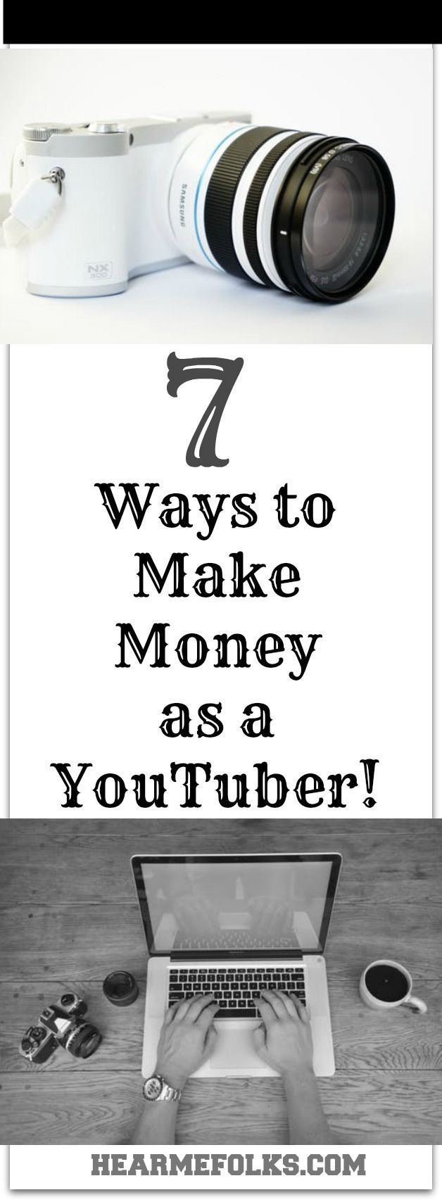 Looking to earn money from home? then you definitely need to know these 7 Proven Ways you can make money from youtube to earn money online. Pin it for further reference. http://www.hearmefolks.com/2016/09/earn-money-from-youtube/