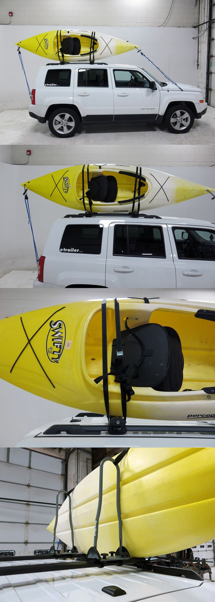 Need inspiration and ideas for transporting your kayaks to and from the river or lake? These Sport Rack Kayak Carriers are awesome for the job! Post-style carrier provides tie-down points and vertical supports that leave room for more gear on the roof! To investigate these accessories further follow the link!