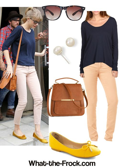 Celebrity Look for Less: Taylor Swift StyleCasual Outfit