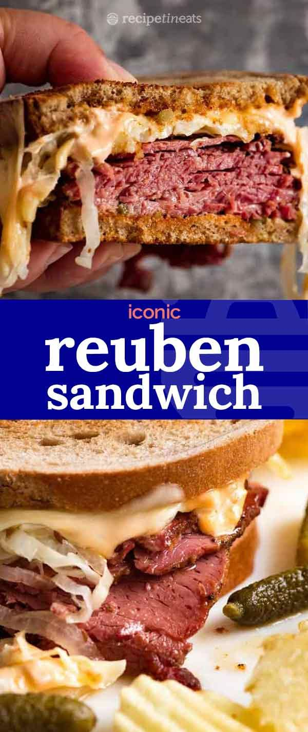 Reuben Sandwich Recipe Recipe Reuben Sandwich Recipes Cold Sandwich Recipes