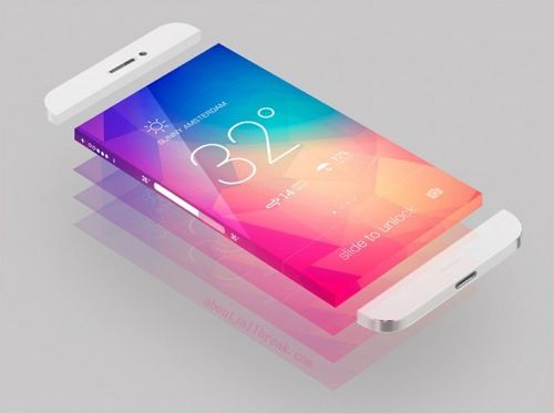 Next generation iPhone concept. It's so pretty :-)