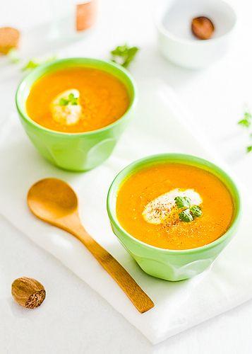 Crema di carote e arance