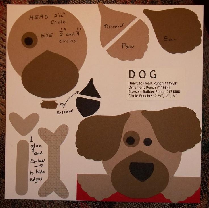 Large Dog Bone Paper Punch