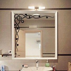 Idée déco salle de bain, grande tresse