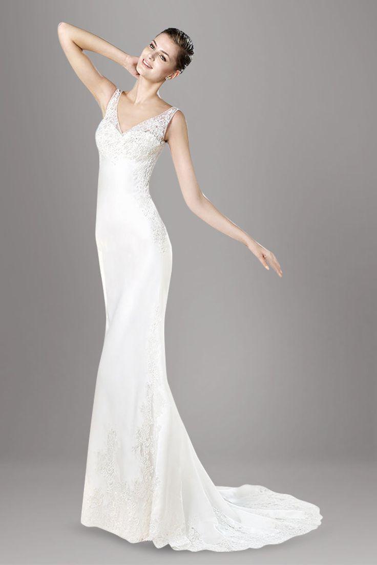 37 best Dresses images on Pinterest   Hochzeitskleider, Brautkleider ...