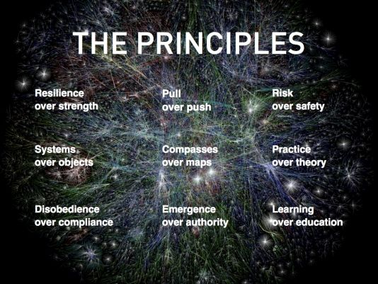 The 9 Joi Ito 9 principles of network-thinking [checklist]