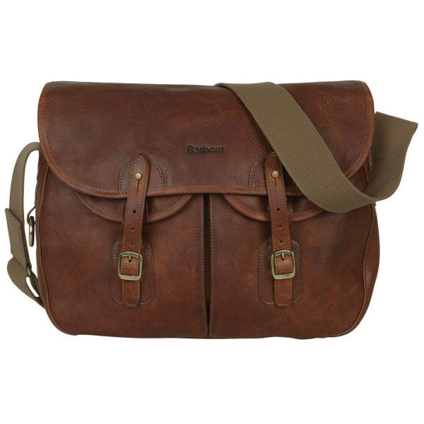 Barbour Leather Tarras Bag - £199.00 | Barbour Bags & Barbour Briefcases at Philip Morris