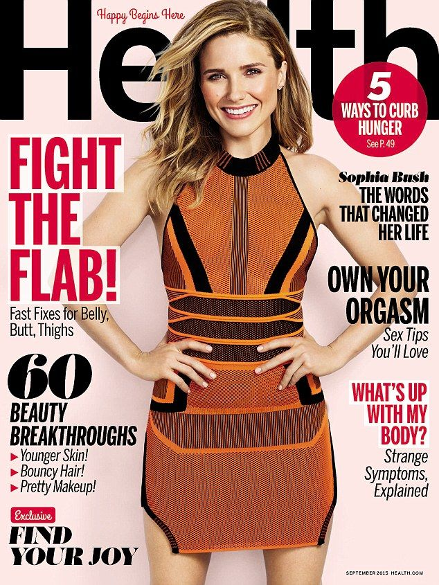 'Shattered': Actress Sophia Bush opened up about her struggles to stay confident and her d...
