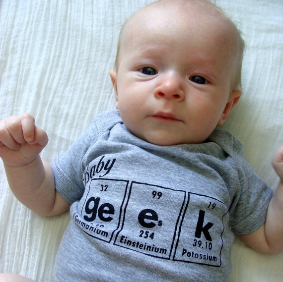 baby geek onesie