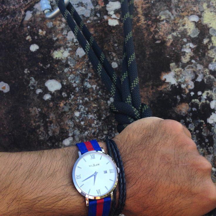 Weekend adventures #rockclimbing #watches #nato
