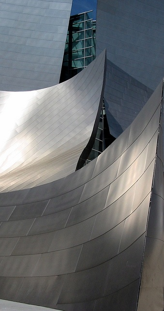 Disney Concert Hall, Down Town LA, via Flickr.