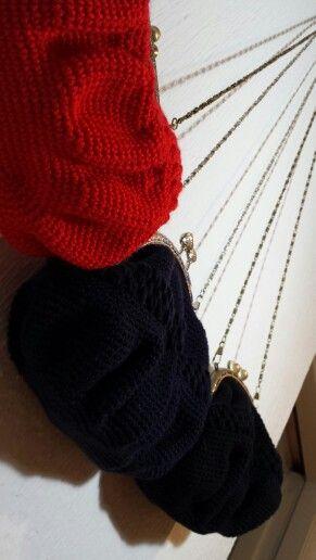 Bolsos de crochet *ovillotejedor*