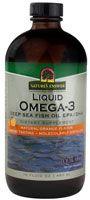 Nature's Answer Liquid Omega-3 Fish Oil Natural Orange