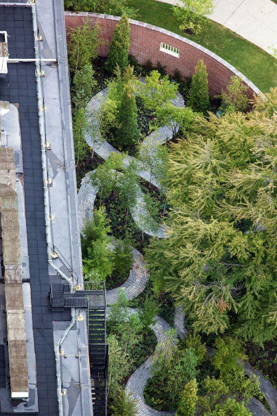 Monks Garden  / Isabella Stewart Gardner Museum  by Michael Van Valkenburgh