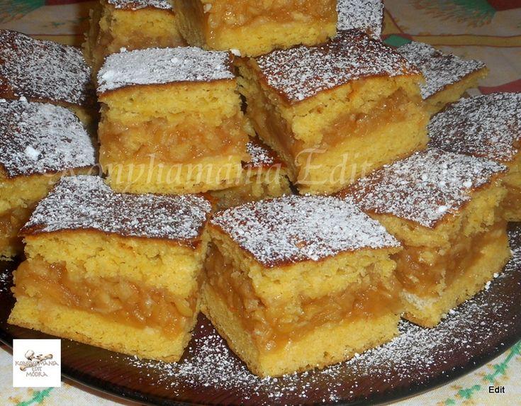 Egy finom Pihepuha almás pite ebédre vagy vacsorára? Pihepuha almás pite Receptek a Mindmegette.hu Recept gyűjteményében!