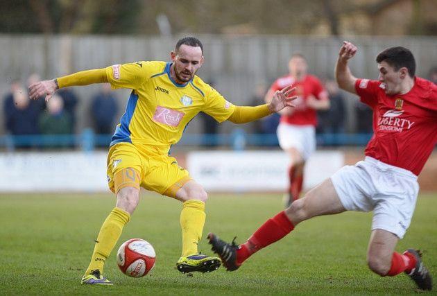 King's Lynn Town FC #kltfc  8/02/14   David Bell. Picture: Ian Burt