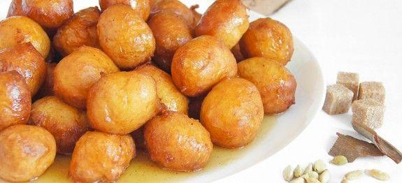Греческие пончики   Вкусные кулинарные рецепты