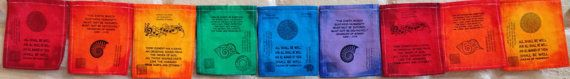 Rainbow Julian of Norwich Hildegard of by GuerillaPrayerFlags