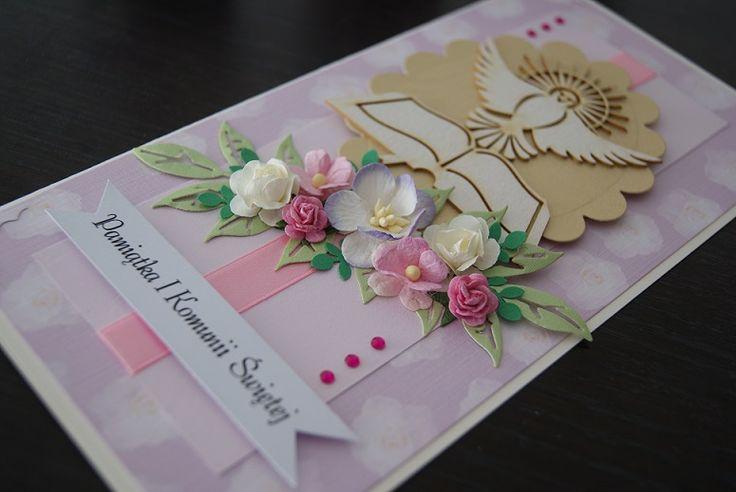 Holy communion handmade card  https://www.facebook.com/myrainbowfields