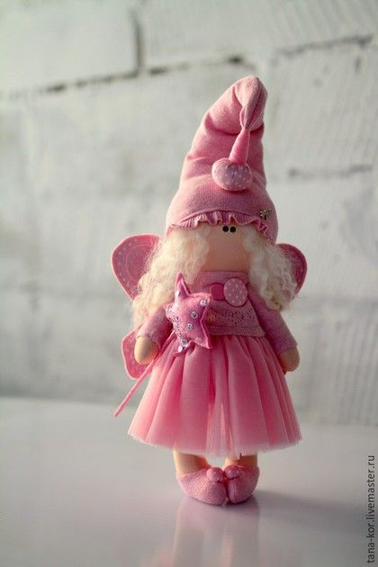 Коллекционные куклы ручной работы. Ярмарка Мастеров - ручная работа. Купить Грейс. Handmade. Розовый, кукла интерьерная, хендмейд, трикотаж