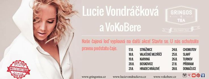 Lucie Vondráčková a Gringos Tea u toho nesmí chybět ☺️😍