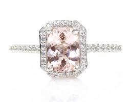 stunning blush diamond ring