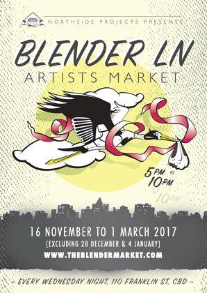 Blender Lane Artists Market