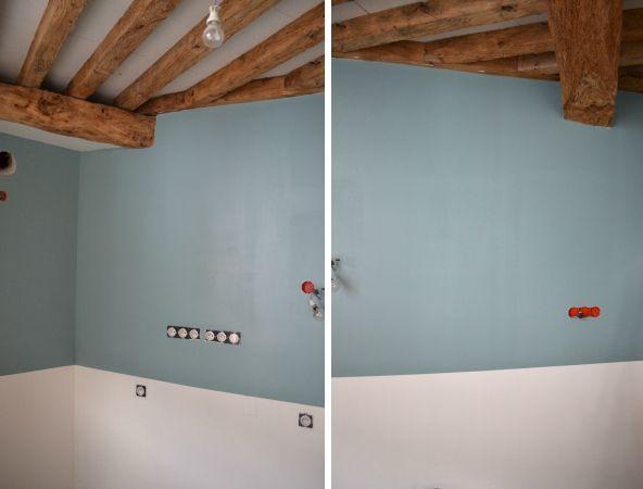 bleu baltique 5 luxens | Farmhouse Laundry Room | Déco maison ...
