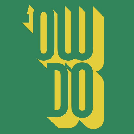 Yorkshire Slang Men's Type T-Shirt 'Ow Do' by thepleb on Etsy