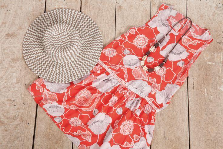 Abito estivo in viscosa.  #thecolorsoup #colors #outifit #diy #handmade #pattern #fabrics