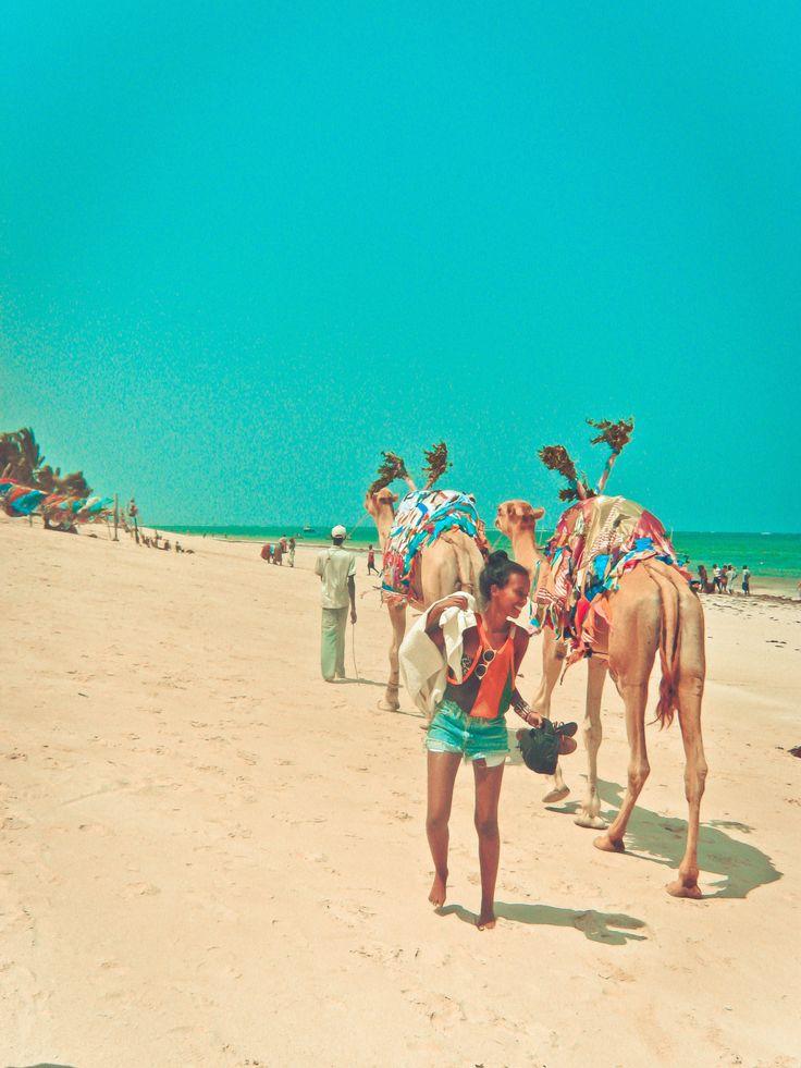 #ridecolorfully on a camel safari at the beach #katespadeny #vespa