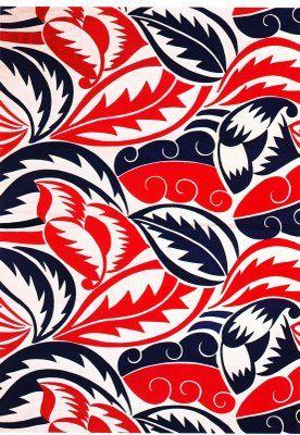 Beautiful...Furnishing fabric, linen (c. 1920) by Raoul Dufy. Manufactured by Fianchini-Ferier, Lyon, France.