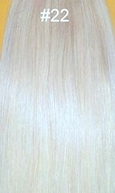 Tape In Hair Extensions- Super Tape 20 Inch: 20 pc Straight #22: Ciao Bella and Venus Hair Extensions Supply