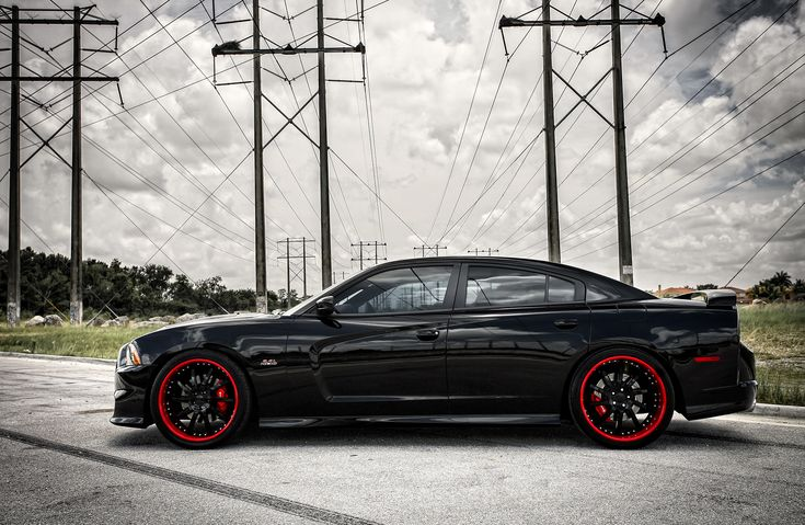 2014 Dodge Charger SRT8 | charger customized dodge charger srt8 lowered on 22 vossen wheels