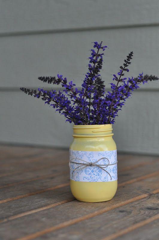 Irresistible diy centerpieces mason jar