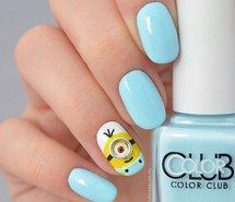 Inspiring image blue nails, cute, fashion, girly, minion, nail art, nail design, neon, pastel nails, pretty, teen, trend, minion nails, teen nails #3229836 by patrisha - Resolution 640x640px - Find the image to your taste